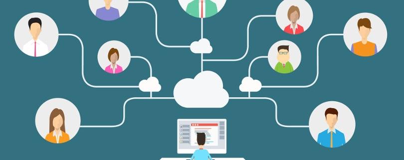 Virtual Team Cloud